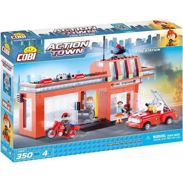 Klocki Action Town Depot Straży Pożarnej
