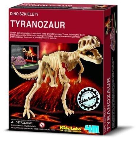 Wykopaliska Tyranozaur T-Rex