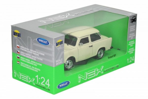 Trabant 601, kremowy