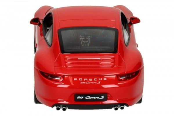 Porsche 911 Carrera S, czerwone