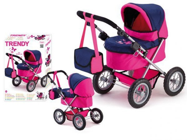 Wózek dla lalki trendy