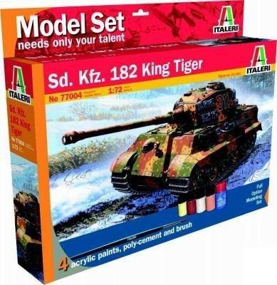ITALERI Model set 'home play' King Tiger