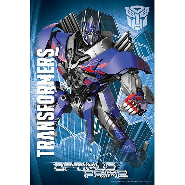 260 elementów Optimus Prime Transformers