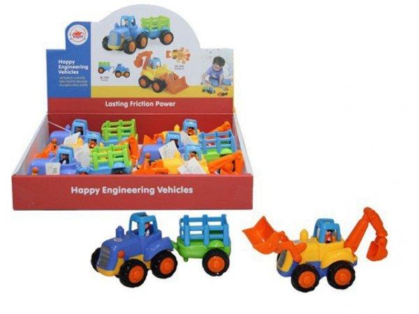 Traktory - Display 6 sztuk