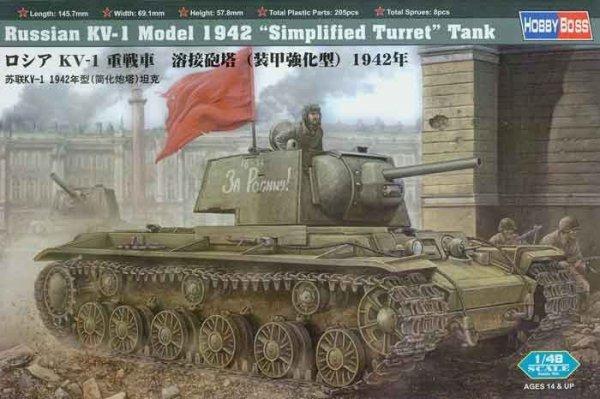 HOBBY BOSS KV-1 Model 19 42 Simplified