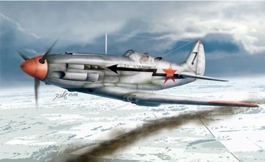 TRUMPETER Soviet MiG-3 L ate Version