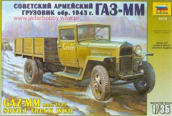 ZVEZDA GAZ-MM mod.1943 W WII