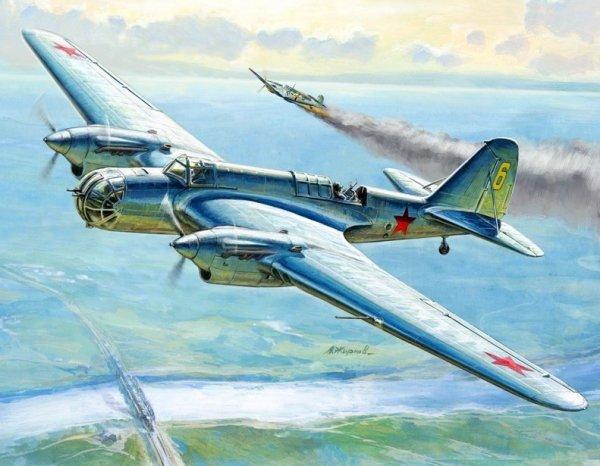 Soviet Bomber SB-2