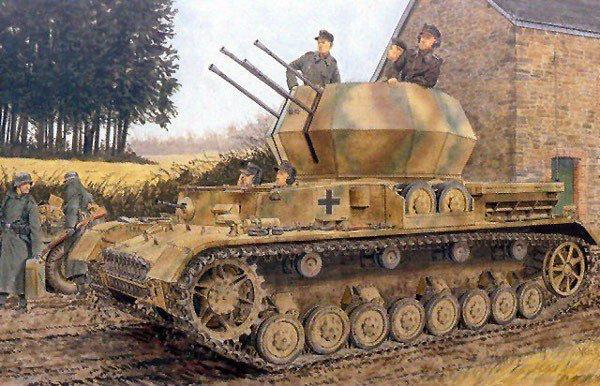 DRAGON  2cm Flakpanzer IV Wirbelwind