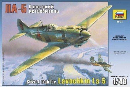 ZVEZDA Lavochkin LA-5 So viet Fighter