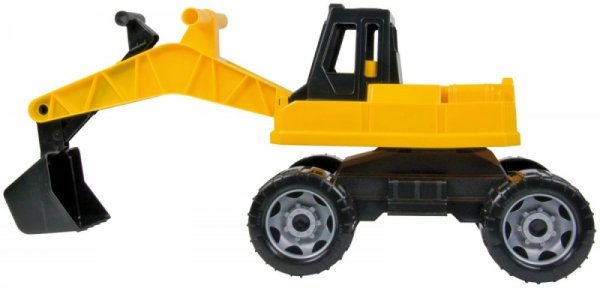 Pojazd Koparka 70 cm black /yellow