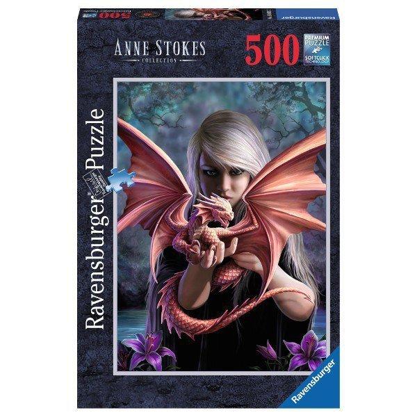 RAVEN. 500 EL. Anne Stok es Dragon Girl