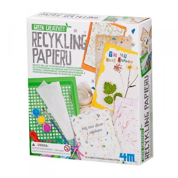 Recykling, Papier Czerpany