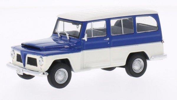 WHITEBOX Willys Rural 19 68 (blue/white)