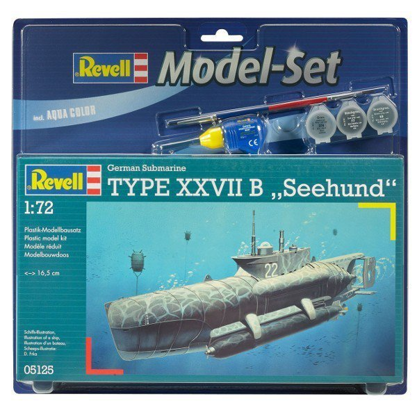 REVELL Model Set U-Boot Type XXVIIB