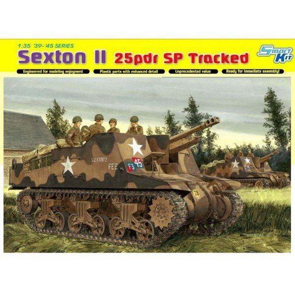 DRAGON Sexton II 25 pdr SP Tracked