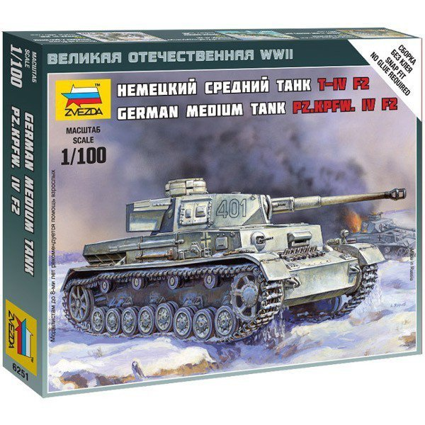 Model plastikowy Panzer IV Ausf.H