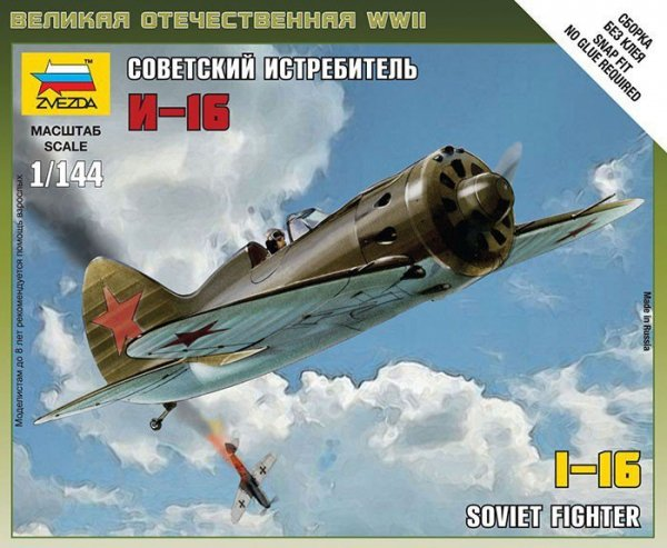 Soviet WWII Fighter Polikarpo I16