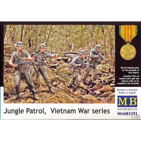 MB Jungle Patrol Vietnam War