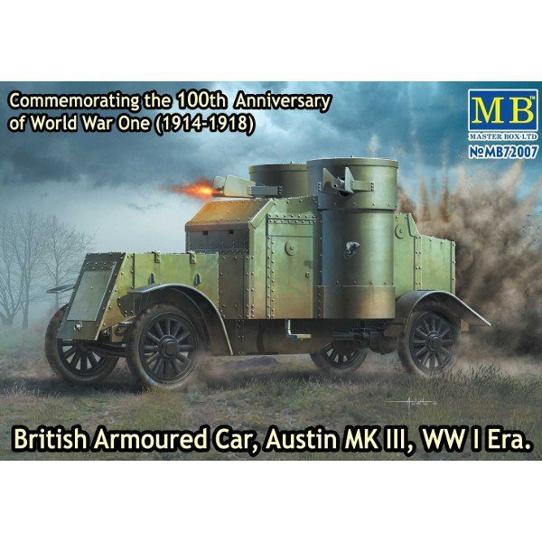MB-British Armooured car , Austin mkIII