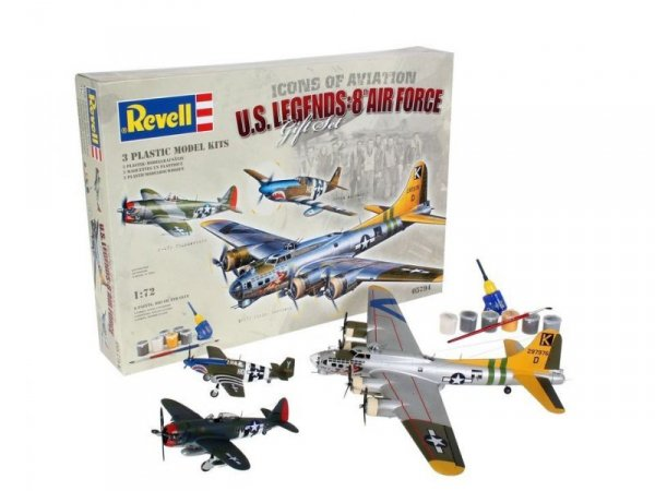 Gift-Set Flying Legends 8th USA Air Force