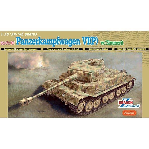 DRAGON Panzerkampfwagen VI (P) w/zimmeri