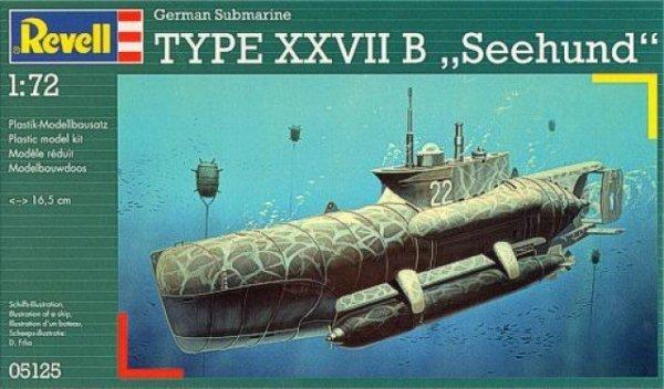 Statek German Submarine  Type XXVII B Seehund