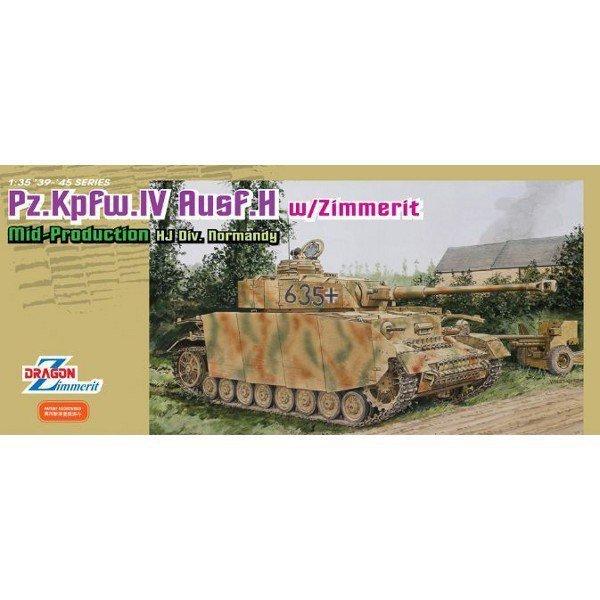 DRAGON PZ.IV Ausf.H Mid w/zimmerit