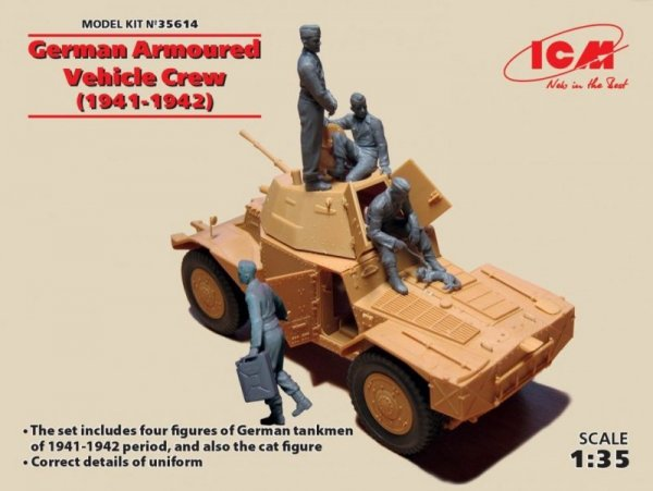 ICM German Armoured Vehi cle Crew 41-42