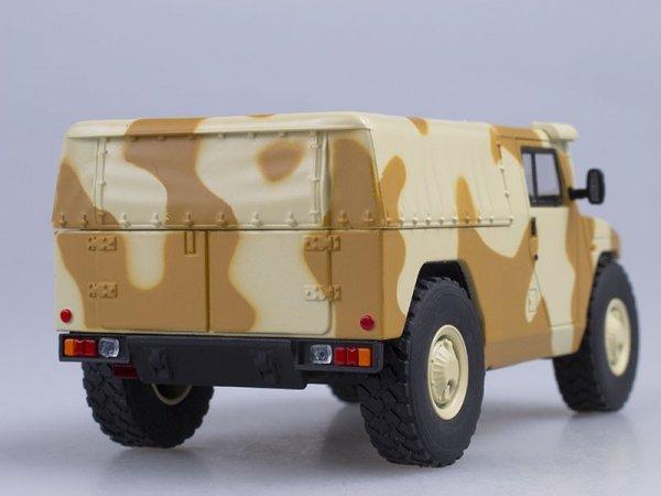 Russian Army Jeep GAZ-233002 Tiger