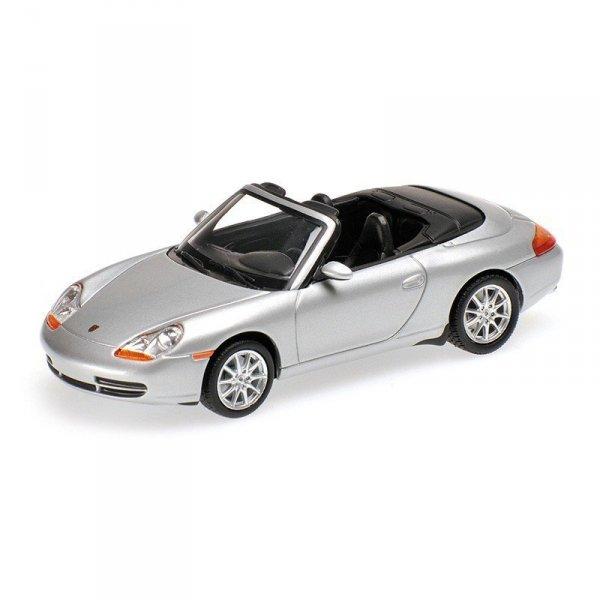Porsche 911 (996) Cabriolet 1998 (silver)