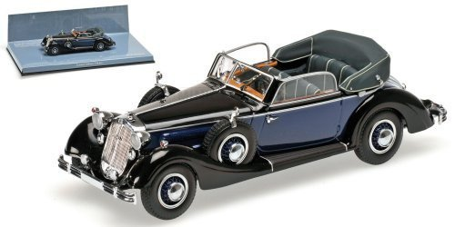 Horch 853A Cabriolet 1938 (black/blue)