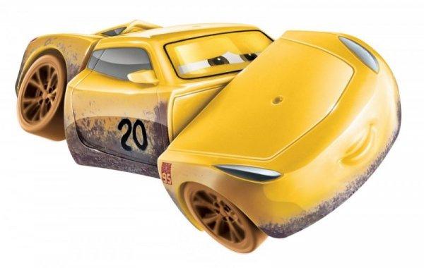 Auto z kraksą Cars Muddy Cruz Ramirez