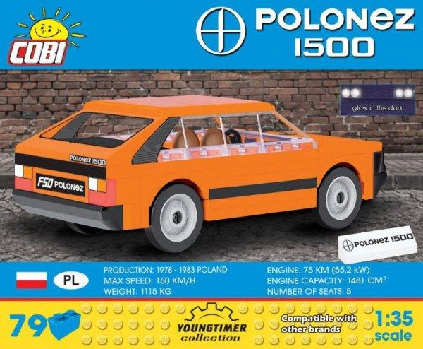 Klocki Youngtimer Collection - FSO Polonez 1500