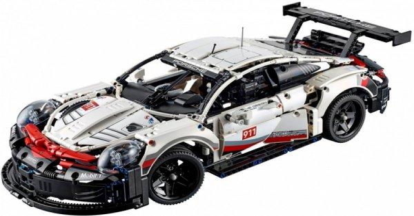 Klocki Technic 42096 Porsche 911 RSR