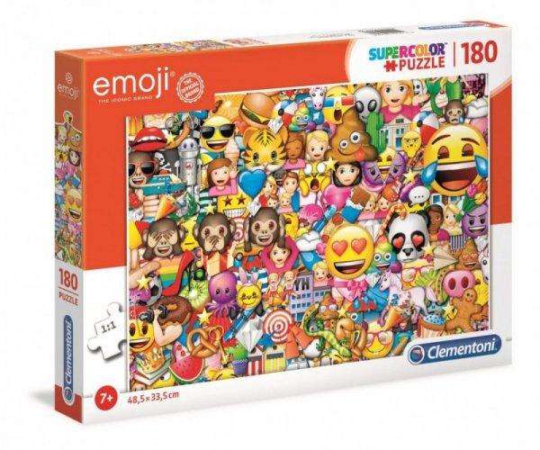 Puzzle 180 elementów Super Kolor Emoji