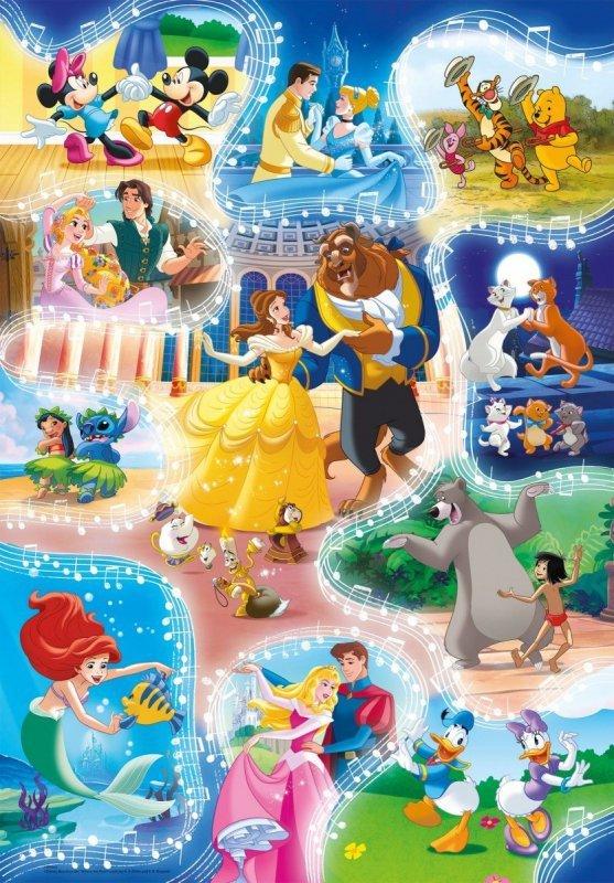 Puzzle 104 elementy Super Kolor Dance Time