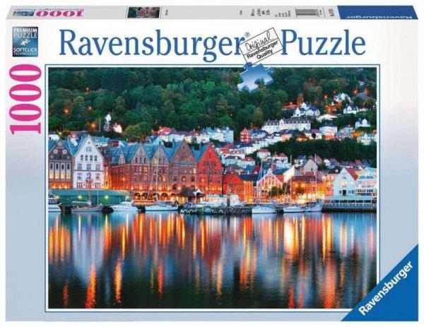 Puzzle 1000 elementów Bergen Norwegia