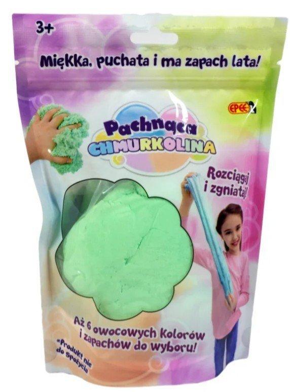 Masa plastyczna Chmurkolina pachnąca zielona jabłko