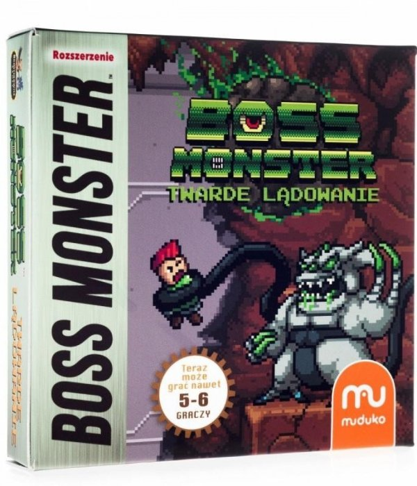 Gra Boss Monster Twarde lądowanie - Dodatek
