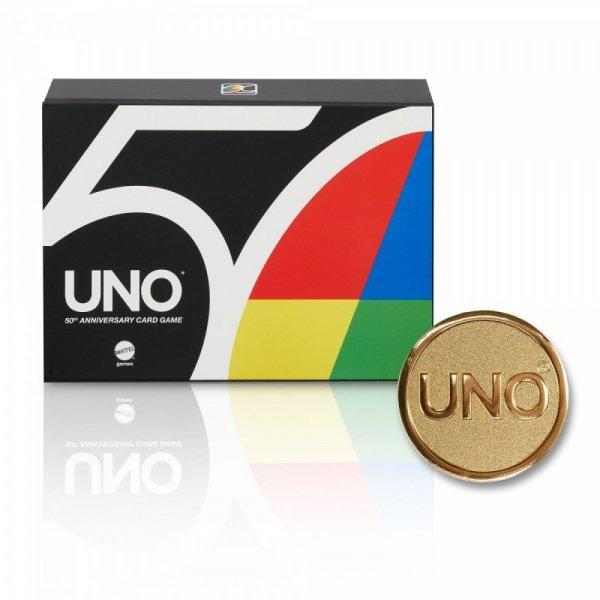 Gra UNO 50 rocznica premium