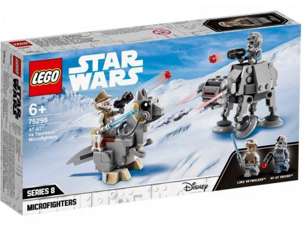 Klocki Star Wars 75298 Mikromyśliwce: AT-AT kontra Tauntaun