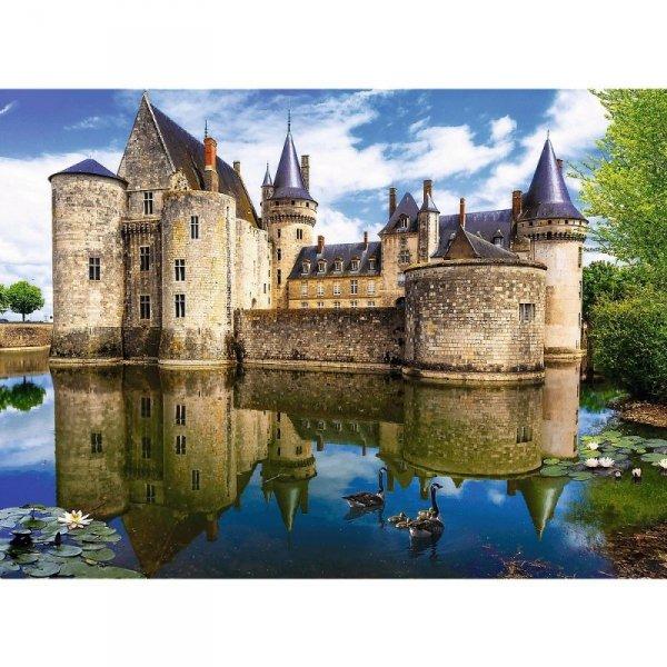 Puzzle 3000 elementów Zamek Scully-sour-Loire Francja