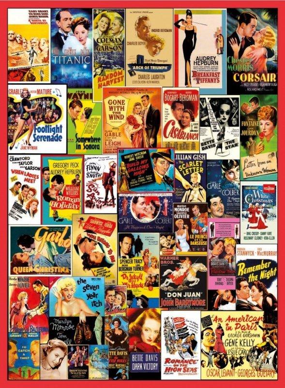 Puzzle 500 elementów Classic Romance