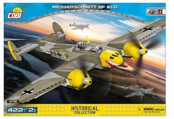 Klocki 422 elementy Messerschmitt Bf 110D
