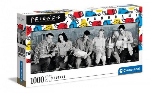 Puzzle 1000 elementów Panorama Friends