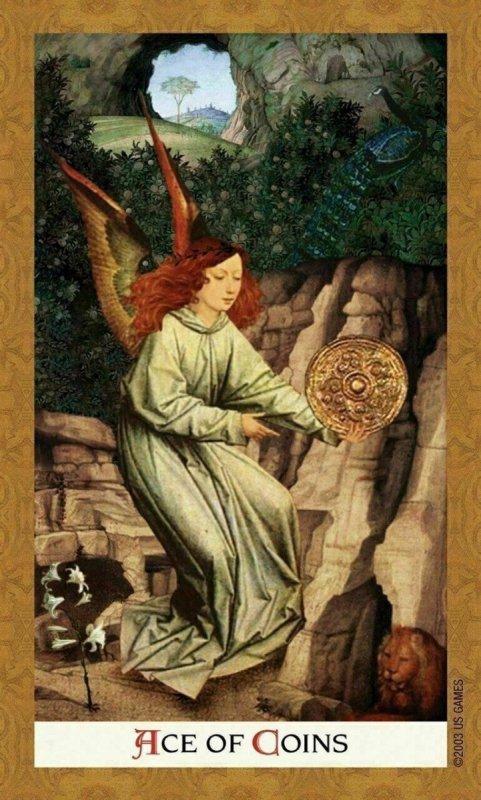 Karty Golden Tarot