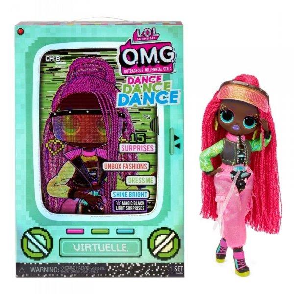 Lalka L.O.L. Surprise OMG Dance Doll, Virtuelle