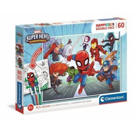 Puzzle 60 elementów Marvel Superhero