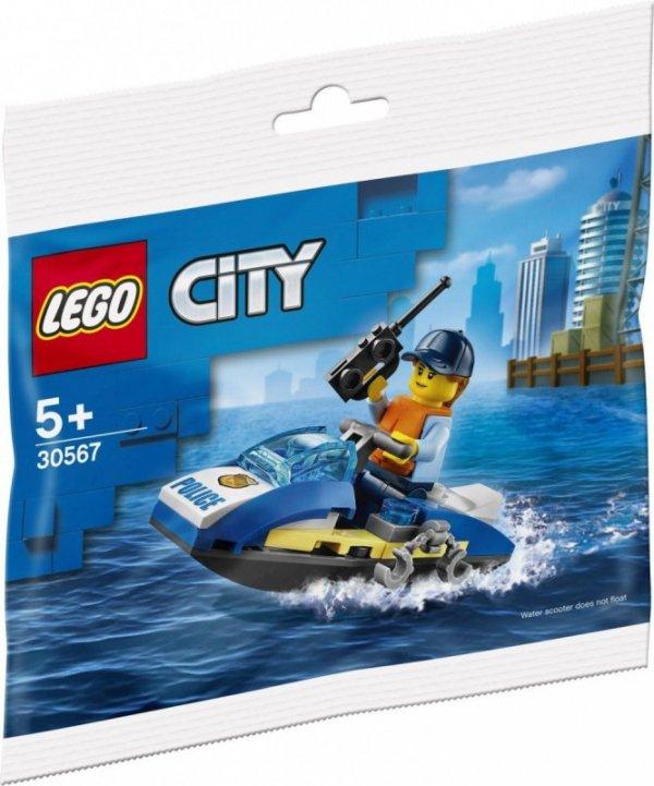 Klocki City 30567 Policyjny skuter wodny